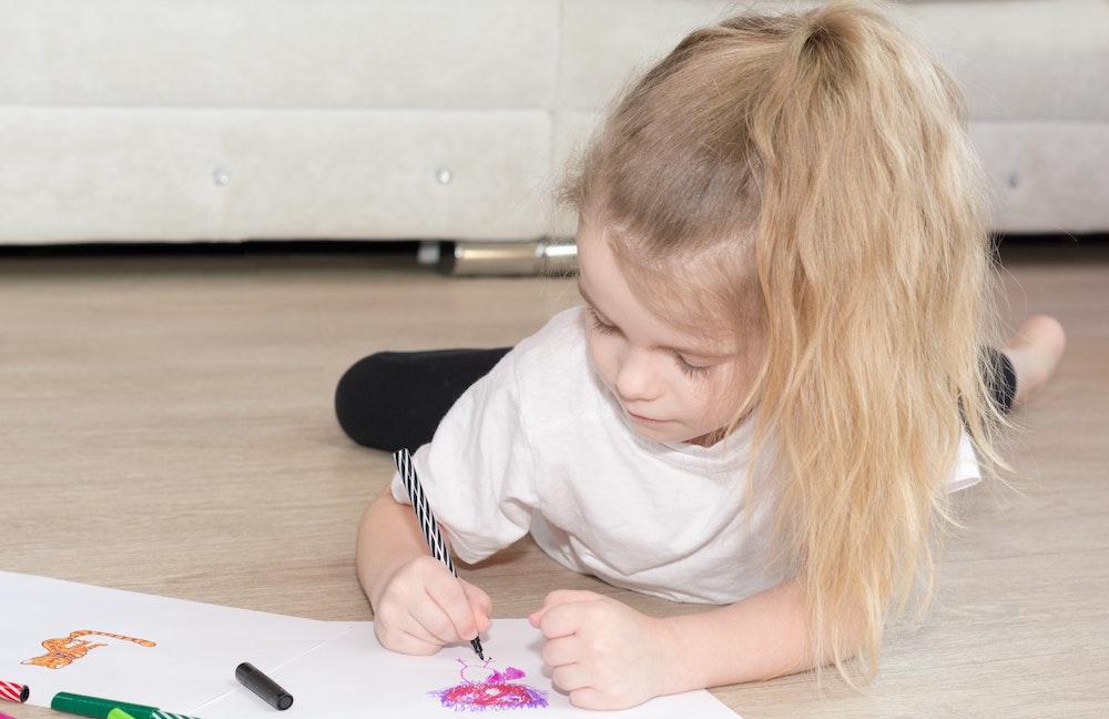 dessin chez l'enfant